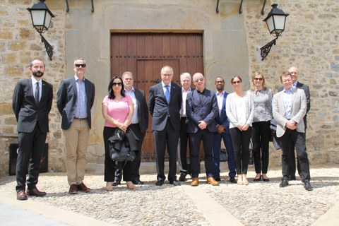 Agents of the British distribution chain John Lewis visits MONDRAGON