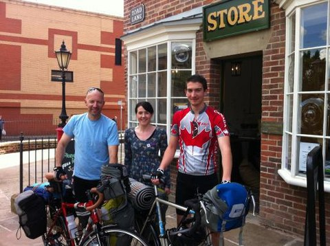 Canadian Professor embarks on a European bike tour for co-operation