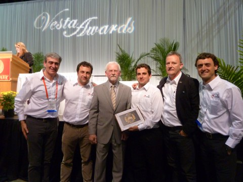 Copreci and Skytech, finalists of Vesta Awards, held in Orlando last week