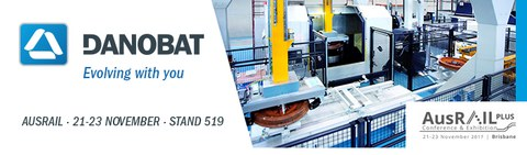 DANOBAT will participate at Ausrail 2017, in Brisbane