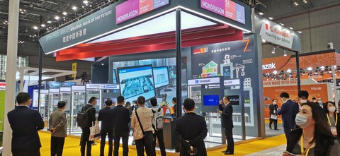 Danobatgroup first appearance at the CIIE