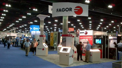 Fagor Automation present at the FEIMAFE exhibition in Brazil