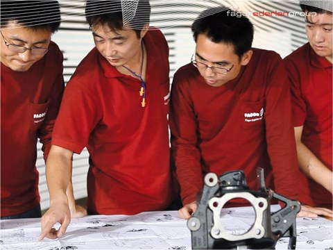 Fagor Ederlan and Infun seal an agreement for the implementation of a new plant in China