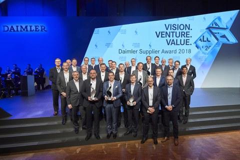 Fagor Ederlan, finalist in the Daimler Supplier Award 2018