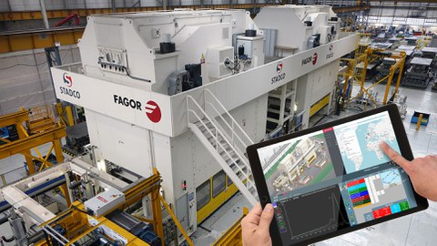 IK4-IKERLAN works with Fagor Arrasate in development of its innovative digitalization system