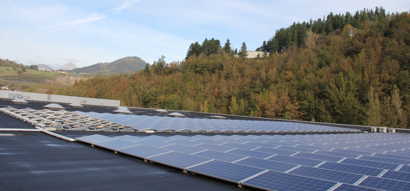 Mondragon Assembly installs 100kw of photovoltaic modules at its Aretxabaleta head office
