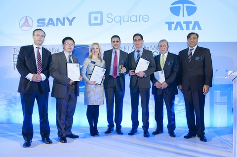 MONDRAGON Corporation, winner at the Boldness in Business awards organised by the Financial Times