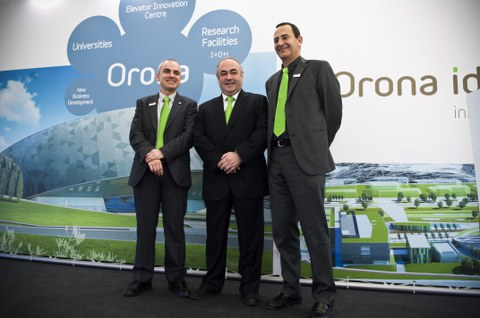 ORONA ends 2012 with sales of 569.1 million Euros and a strong commitment to internationalisation with the acquisition of Grupo AMG Elevadores in Brazil