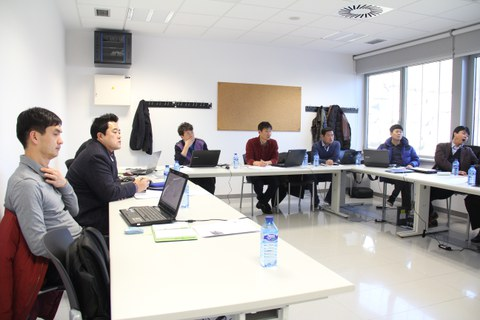 The Korean Happy Bridge cooperative visits MONDRAGON