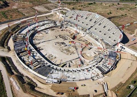 ULMA Construction takes part on the newly-opened Wanda Metropolitano Stadium in Madrid