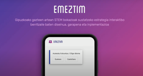 EMEZTIM, el chatbot diseñado para fomentar la educación STEM