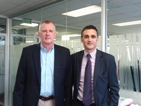 W.C. Bradley CEO visits MONDRAGON Corporation