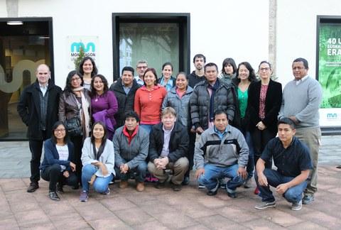 16 personas de Latinoamérica realizan el curso en Gestión económica y social para el desarrollo de la economía solidaria