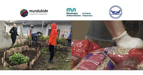 20.900€ de donación al Banco de Alimentos de Gipuzkoa y a Mundukide