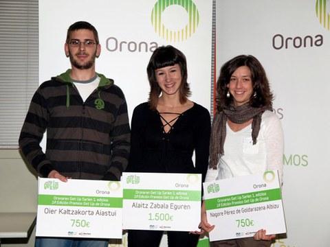 Abierto el plazo de inscripción para participar en la segunda edición de los premios Get Up de Orona