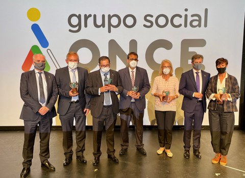 """Acto de entrega de los premios """"Solidarios ONCE"""""""