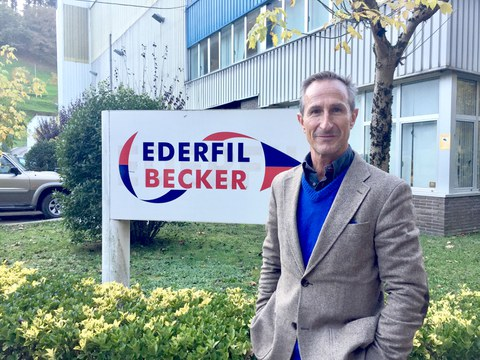 Aitor Elorriaga, nuevo gerente de Ederfil Becker