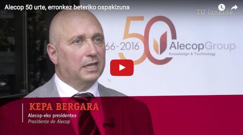 Alecop 50 años, celebración con nuevos retos