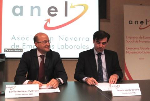 ANEL y CEIN unen fuerzas para fomentar el emprendimiento en Navarra