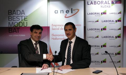 ANEL y Laboral Kutxa suman fuerzas para promover el cooperativismo en Navarra