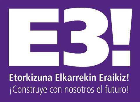 Arranca la edición 2015 de la iniciativa Etorkizuna Elkarrekin Eraikiz (E3!)