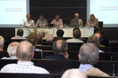 Asamblea Anual  de la asociación Amigos de Arizmendiarrieta en Garaia