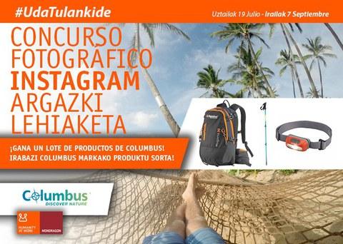 ¡Aún estás a tiempo! Publica en Instagram tu fotografía de verano con el hashtag #UdaTulankide y gana un lote de productos de Columbus