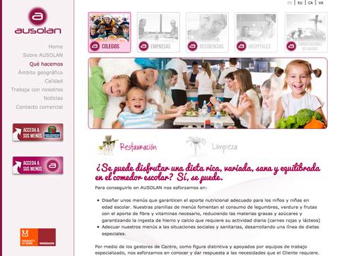 Ausolan estrena un sitio web más intuitivo y funcional