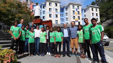 Ausolan se implica en el proyecto Yuwa, en la India