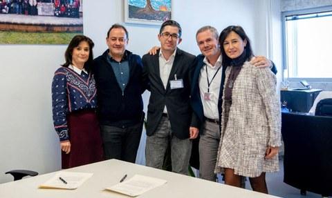 Ausolan y Basque Culinary Center firman un acuerdo para impulsar la innovación