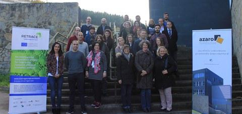 Azaro Fundazioa participa en el proyecto europeo Retrace, relacionado con la economía circular