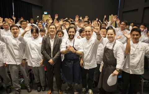 Basque Culinary Center promueve en Singapur la cocina de vanguardia como tendencia mundial