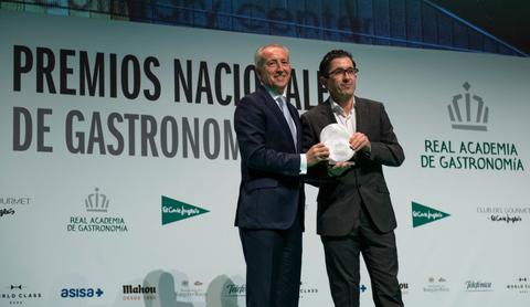 Basque Culinary Center recibe el premio de Gastronomía Saludable
