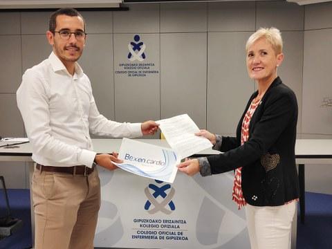 Bexen Cardio firma un acuerdo de colaboración con el Colegio Oficial de Enfermería de Gipuzkoa