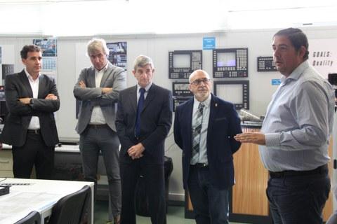 Centro Stirling inaugura su centro navarro en las instalaciones de Embega, en Villatuerta