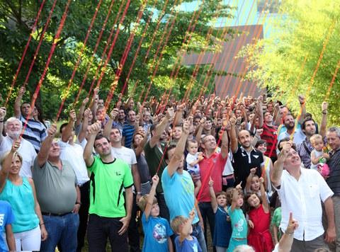 Cerca de 200 trabajadores y socios proclaman ¡Somos ULMA!