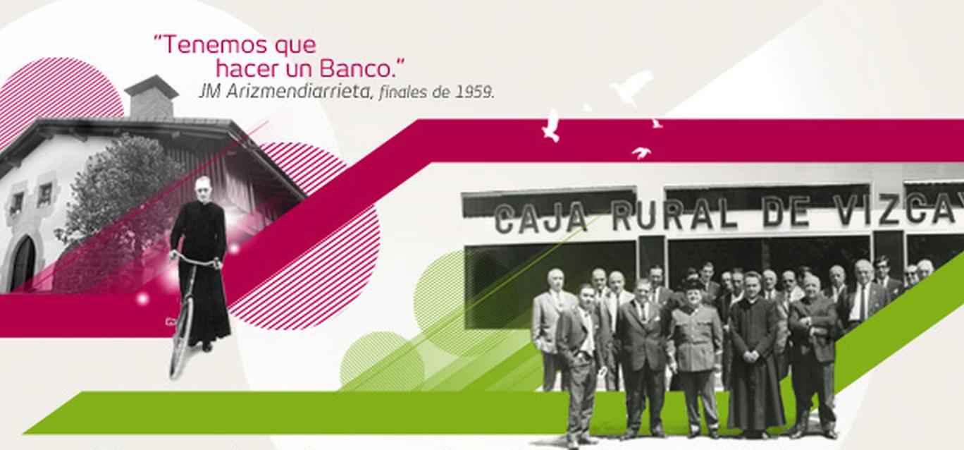 'Tenemos que crear un banco' sugirió Arizmendiarrieta