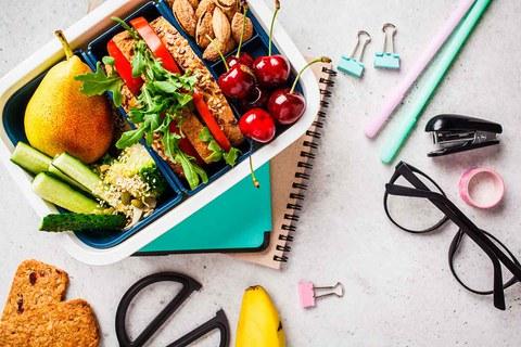 Cómo preparar un snack saludable para la vuelta al cole