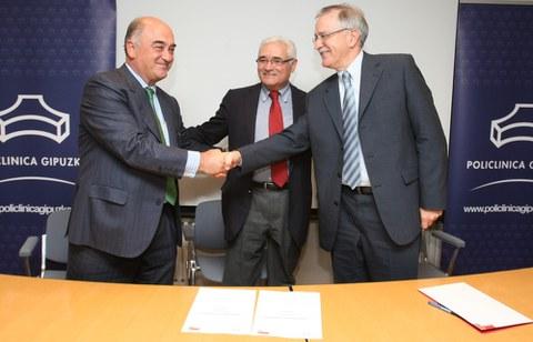 Convenio entre Policlínica Gipuzkoa y MONDRAGON Health, para promover la investigación y la formación sanitaria