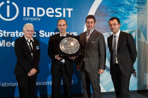 Copreci premiado por Indesit como proveedor Innovador