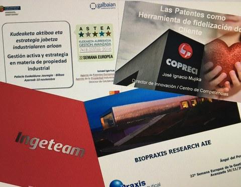 Curso de patentes el 27 de enero en Bilbao y el 24 de febrero en Donostia
