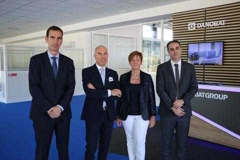 DANOBAT inaugura nueva planta en Piamonte (Italia)