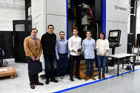 Danobatgroup premia la investigación en fabricación industrial