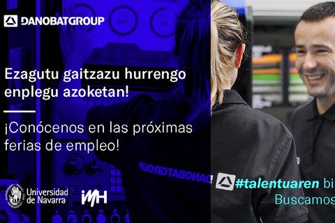 Danobatgroup reafirma su compromiso con el talento con su participación en dos ferias de empleo
