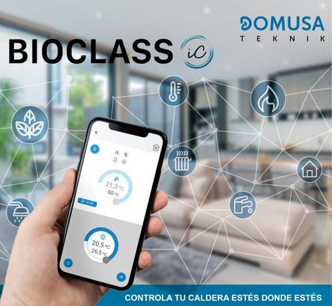 Domusa Calefacción presenta su primera gama de calderas con conectividad a través de Internet