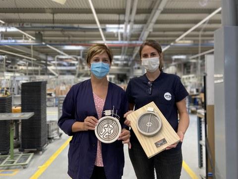 Eika fabrica su foco radiante para vitrocerámica número 200.000.000