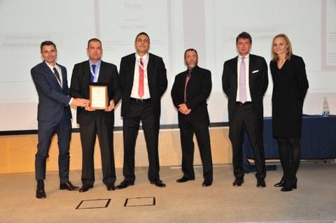 Eika recibe de Whirlpool el premio a la Excelencia en Calidad