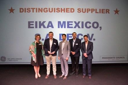 Eika recibe el reconocimiento de General Electric