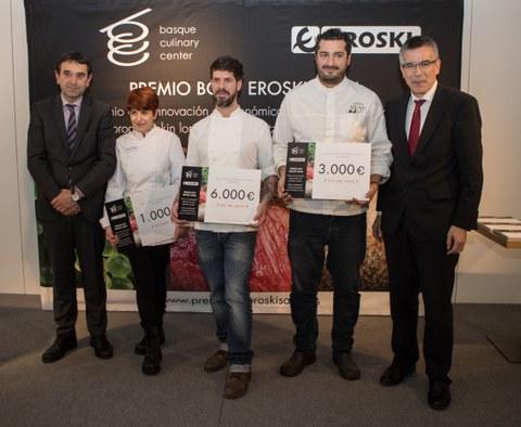 "El ""Premio BCC EROSKI"" ya tiene ganador: Paulo Airaudo"