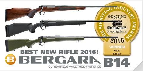 El B14 de Rifles Bergara, el mejor rifle del año en Reino Unido